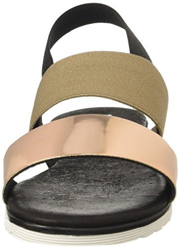 Pollini 3246, Sandales femme Multicolore (Quartz Mirror And Black Elastic)
