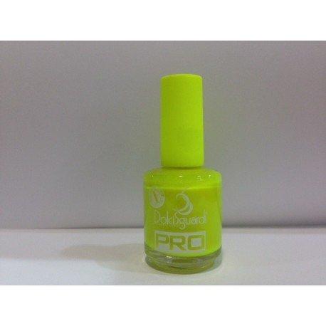 Smalto per Unghie Colore Giallo Fluo Effetto Gel