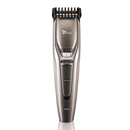 Syska HT400 Ultra Trim Beard Trimmer (Champagne Gold)