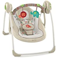 Bright Starts 60194 Cozy Kingdom Portable Swing