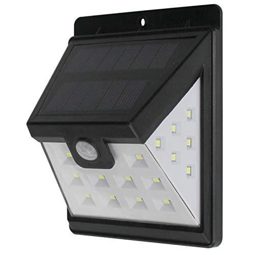 REFURBISHHOUSESolar Licht Im Freien 22 Led Weitwinkel Beleuchtung Bewegungs Sensor Wasserdichte Wandleuchte Wireless Sichere Nachtlicht Aussenwand, Hinterhof, Zaun, Garage, Garten (1 Pack) -