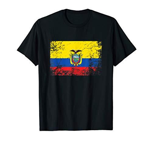 Ecuador Flagge tshirt für Männer Frauen und Kinder T-Shirt -