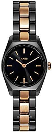 Rado Women's Black Dial Stainless Steel Band Watch - R3150