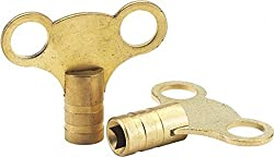 Draper 73965 Brass Radiator Keys (1 Pair)