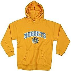 Denver Nuggets Nba baloncesto Juventud Capucha, Sudadera Con Capucha, amarillo Small (6–7) -
