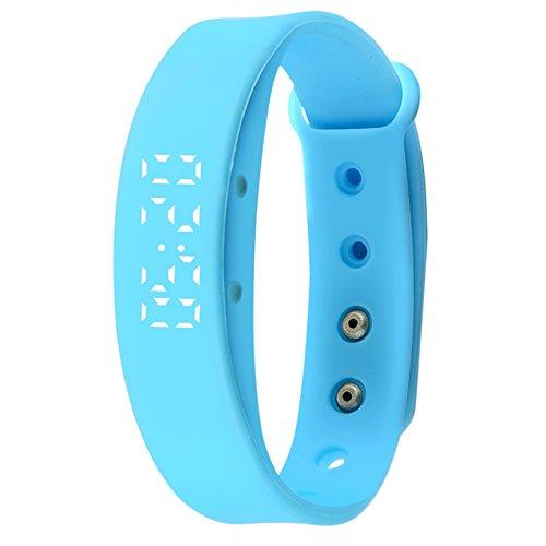 Ladies Watch, Ring-Hand hell Multifunktionale Elegant Armbanduhr für die elektronische Studenten männlichen und weiblichen, Stromzähler-Schritt, zeigt Wasserdicht-E