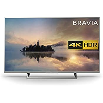 Sony Bravia KD43XE7073SU 4K HDR Smart TV (X-Reality PRO for Enhanced Clarity, Texture and Detail Picture Quality, 2017 Model) - 43 inch, Silver