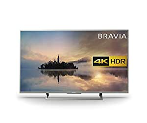 Sony Bravia KD55XE7073 4K HDR Smart TV (X-Reality PRO for Enhanced Clarity, Texture and Detail Picture Quality, 2017 Model) - 55 inch, Silver [Energy Class a_plus]