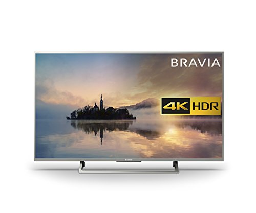 Sony Bravia KD43XE7073 4K HDR Smart TV (X-Reality PRO for Enhanced Clarity, Texture and Detail Picture Quality, 2017 Model) - 43 inch, Silver