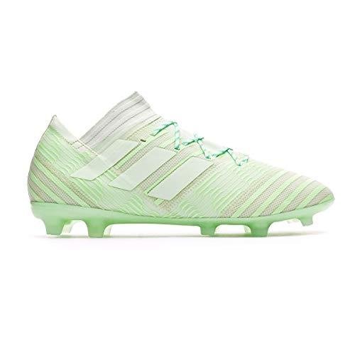 adidas Nemeziz 17.2FG– Fußballschuhe für Erwachsene, (Harte Böden, Erwachsene, Herren, 46.7 (46 2/3), Sohle mit Stollen, grün)