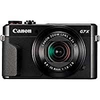 Canon PowerShot G7 X Mark II 20.1 HD Camera with 4.2x Optical Zoom (Black)