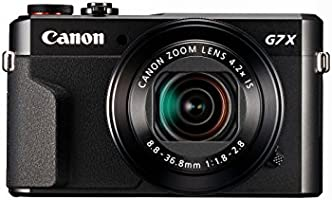 Canon PowerShot G7 X Mark II Premium-Kompaktamera mit klappbarem Display (7,5 cm (3 Zoll) LCD-Display, Touchscreen)