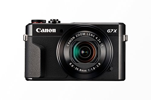 Canon PowerShot G7 X Mark II Digitalkamera (mit klappbarem Display, 20,1 MP, 4,2-fach optischer Zoom 7,5cm (3 Zoll) LCD-Display, Touchscreen) schwarz -