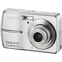 Pentax Optio E50 Digitalkamera (8 Megapixel, 3-fach opt. Zoom, 2,4 Display)