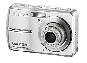 """Pentax Optio E50 Appareil photo compact numérique 8 Mpix écran 2,4"""" Argent"""
