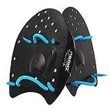 ZAOSU Unisex Handpaddles | Paddles geeignet für Kinder und Erwachsene, Größe:S