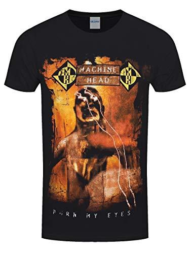 Zoom IMG-2 machine head t shirt burn