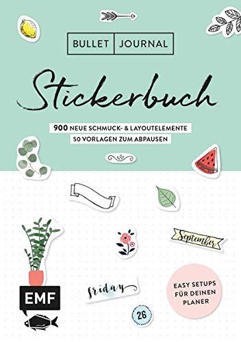 ckerbuch Band 2: 900 neue Schmuck- und Layoutelemente: Mit Tipps für dein Journal-Setup und 100 Vorlagen zum Abpausen ()