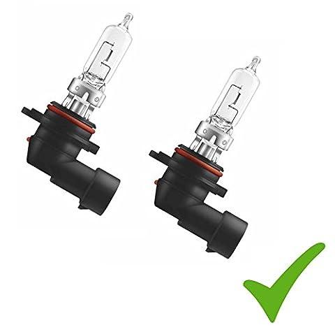 Pratique Double Set. (Prix de base: 6,50EUR/Stk) 2x HB312V 60W à incandescence P20D Lampe Phare halogène Lampe de lampe de voiture