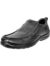 ALLEN COOPER ACCS-33527 Black Men's Leather Formal Loafers