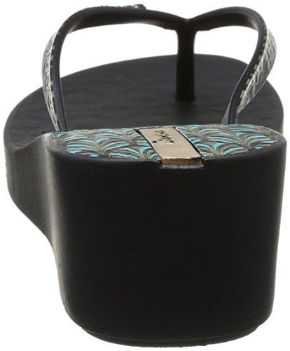 Ipanema Art Deco, Tongs femme Noir (20766/Black/Black)