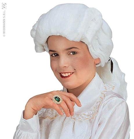 Costumes Flamme - Générique - Pe907 - Perruque Marquis Enfant