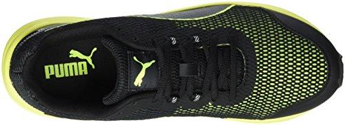 Puma Descendant V4, Chaussures de Running Entrainement Homme Noir (Black/Safety Yellow)