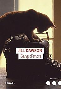 Sang d'encre par Jill Dawson
