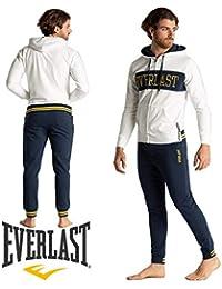 7ea6be19ad8f0a Everlast Tuta Sport Uomo Inverno Completo Sportivo bi-Color Cappuccio Zip e  Logo