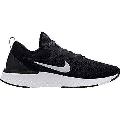 Nike Herren Glide React Laufschuhe, Schwarz (Black/White/Wolf Grey 001), 43 EU
