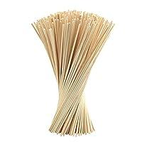 FEPITO Reed Diffuser Sticks Oil Aroma Diffuser Sticks Wood Rattan Reed Sticks (Wood Color, 250pcs)