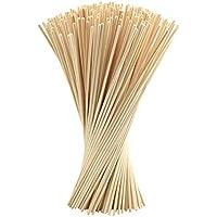 FEPITO 250 piezas Reed Diffuser Sticks Oil Aroma Diffuser Sticks Rattan Wood Ricks