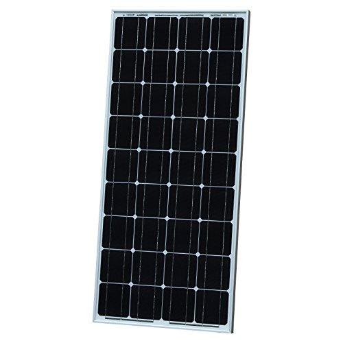 100W Photovoltaikmodul, Solarmodul mit 5m Solarkabel, zum Laden eines 12V-Akkus zum Beispiel in Ihrem Wohnmobil, Wohnwagen, Wohnmobil, Boot oder Ihrer Yacht. Auch als Notstromversorgung geeignet.