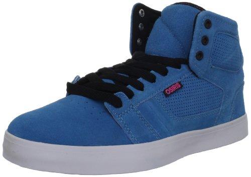 Osiris Effect, Scarpe da skateboard unisex adulto Blu (Blau (Bleu (Ast/Blk/Pnk)))