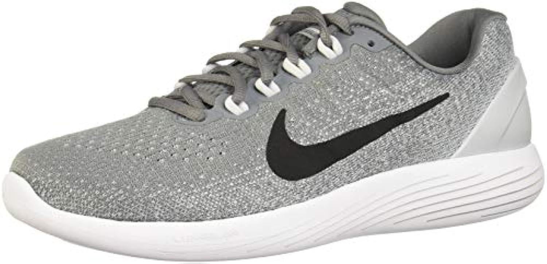 Zapatillas running Nike Lunarglide 9 Cool Grey / Black Pure Platinum 8 Hombre EE. UU.
