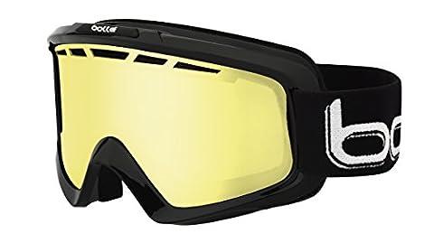 Bollé Skibrille Nova II, Shiny Black/Lemon, 21085