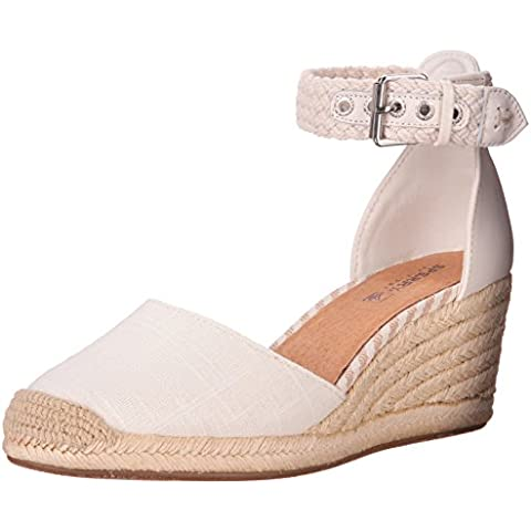 Sperry Top-Sider Women's Valencia Wedge Pump, Ivory, 7.5 M