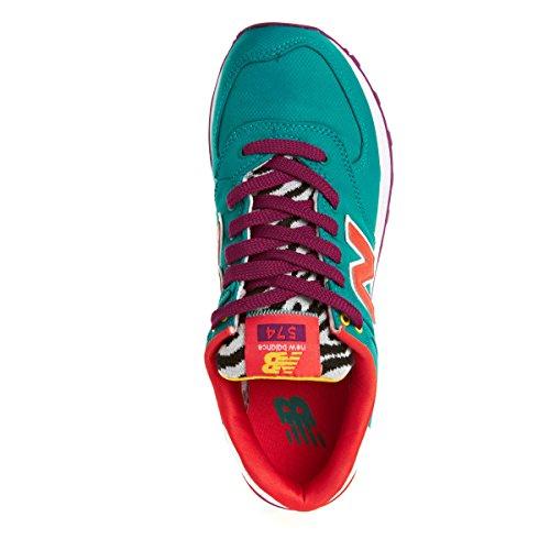 New Balance Damen 574 Global Surf Sneakers Blau