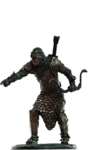 Lord of the Rings Señor de los Anillos Figurine Collection Nº 173 Orc Sentry 1