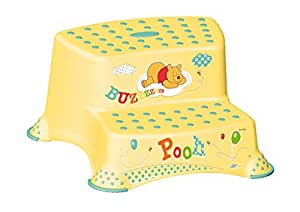 ... Keeeper Double step stool  Winnie the Pooh   sc 1 st  Amazon.in & Buy Keeeper Double step stool