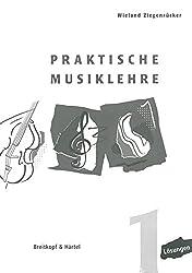 Praktische Musiklehre Lösungsheft zu Heft 1 (BV 391 )