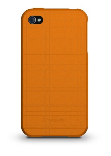 XTREMEMAC IPP-TW5-53 TUFFWRAP LIME GREEN SILIKON-SCHUTZHÜLLE FÜR APPLE IPHONE 4/4S GRÜN Orange