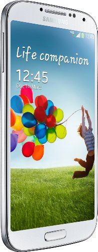 Samsung Galaxy S4 Smartphone (12,7 cm (4.99 Zoll) AMOLED-Touchscreen, 32 GB interner Speicher, 13 Megapixel Kamera, LTE, Android 5.0) - Weiß