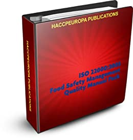 ISO 22000 Food Safety Management Quality Manual Pack eBook