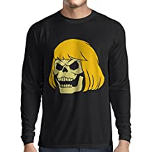 N4411L Camiseta de manga larga Blonde Skull