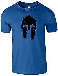 Spartan Helmet Hommes Femmes Dames Le T-shirt Drole
