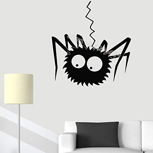 woyaofal Drôle Insecte Sticker Mural décor Enfants bébé Chambre d'enfant Chambre Salon Vinyle Sticker canapé Fond Art Mural E 110x118 cm