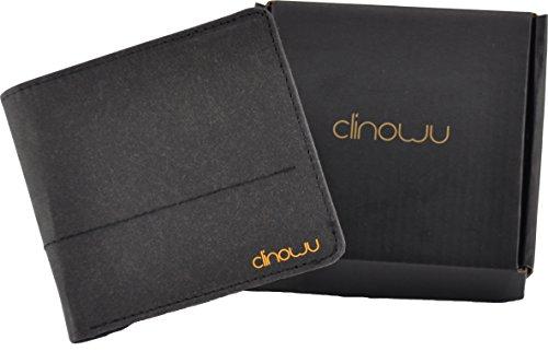 clinowu Portemonnaie im Querformat, unisex | Premium-Geldbeutel aus Kraftpapier, ohne Leder, vegan | RFID-Blocker eingebaut - 4