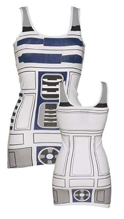Ladies R2 D2 Star Wars Longline Vest