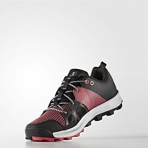 adidas Kanadia 8 TR W, Scarpe da Corsa Donna Nero (Negbas / Ftwbla / Rosbah)